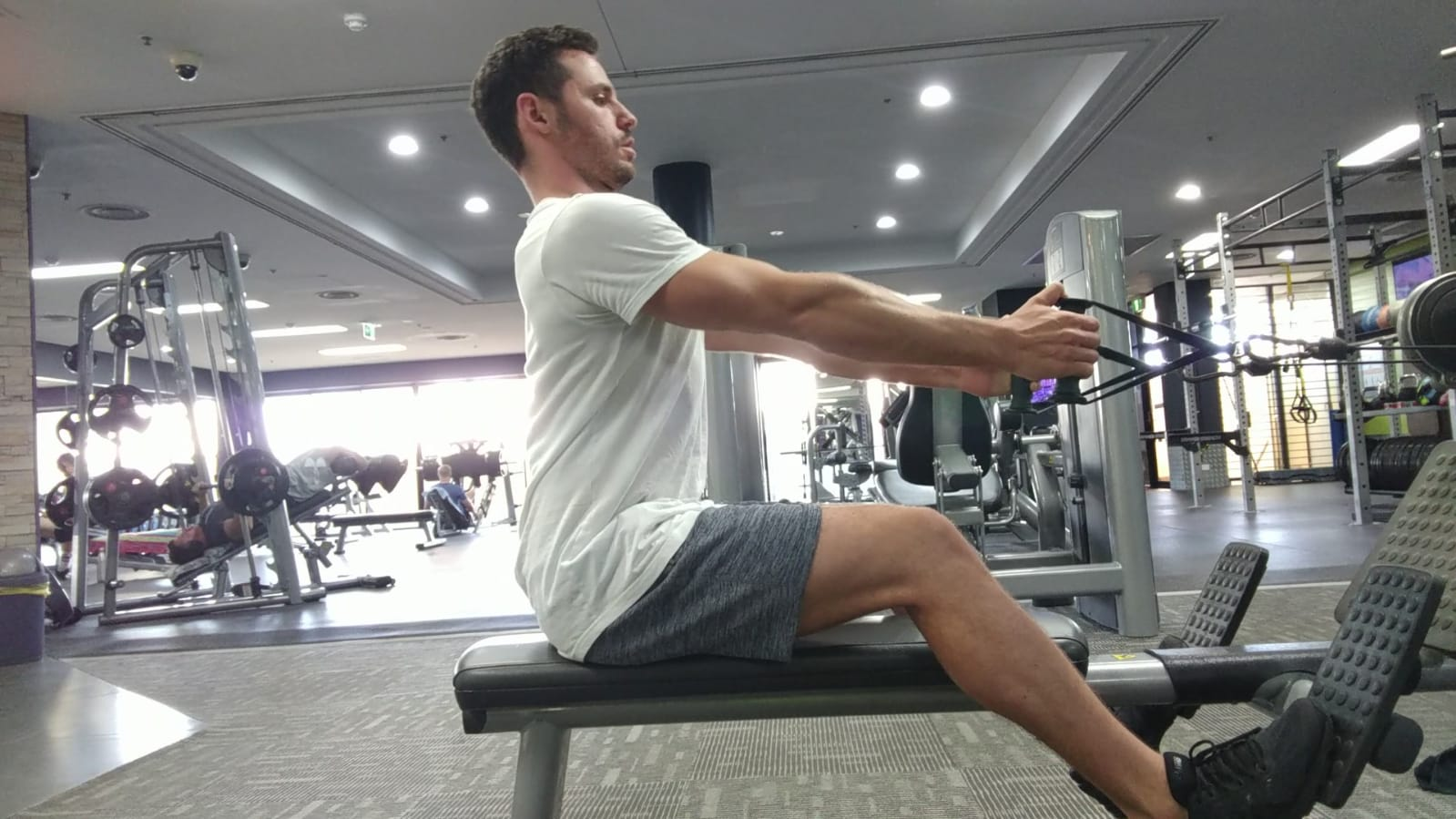 posture during exercise